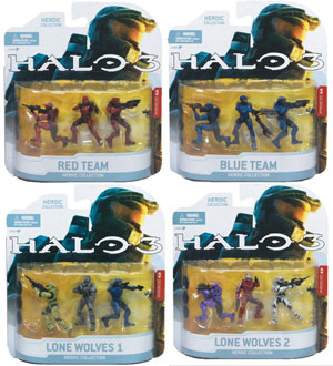 Halo 3 Heroic Collection - Series 1 Set of 4