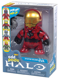 Halo Odd Pods - Red Spartan EVA