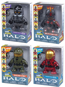 Halo Odd Pods - Series 1 Set of 4