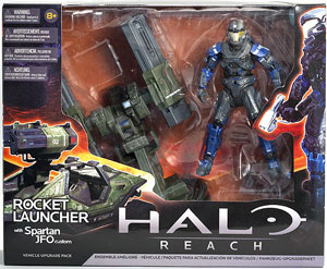 Halo Reach Rocket Launcher with Spartan JFO