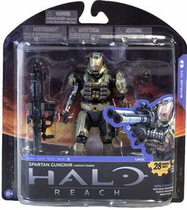 Halo Reach Series 5 - Spartan Gungnir Custom Male