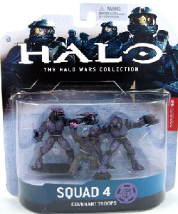 Halo Wars - Set 4 - 2 Elites and 1 Grunt - Purple