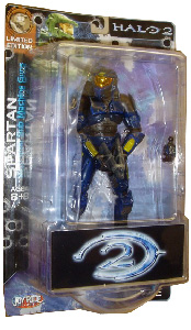 Limited Edition: Battle Damaged Blue Spartan