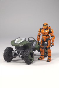 MONGOOSE WITH SPARTAN MARK V (ORANGE)
