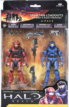 Halo Reach 2-Pack - Spartan Loadouts
