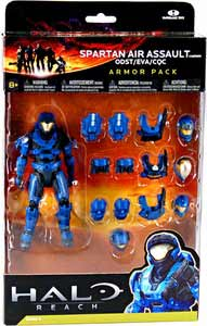 Halo Reach - Blue Spartan Air Assault Armor Pack - ODST, EVA, CQC
