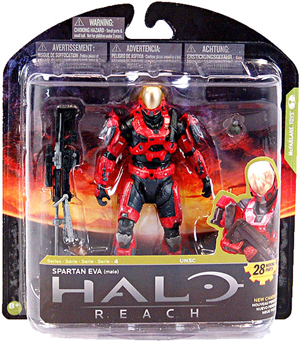 Halo Reach Series 4 - Exclusive TEAM RED Spartan EVA - Male]