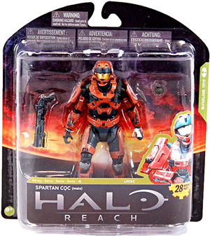Halo Reach Series 4 - Exclusive RUST Spartan CQC - Male