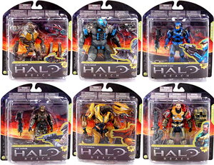 Halo Reach Series 4 - Set of 6