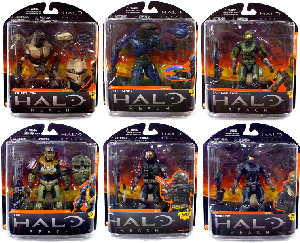 Halo Reach - Series 1 Set of 6