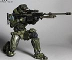 Halo Reach Play Arts Kai - Warrant Officer Jun