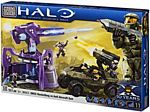 Mega Bloks Halo Wars - UNSC Rockethog vs Anti Aircraft Gun - 96923