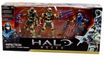 Halo Reach - 3-Pack Infection - Human Spartan and Zombie Spartan