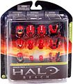 Halo Reach Series 4 - Exclusive RED Armor Pack - Air Assault, ODST, CQC