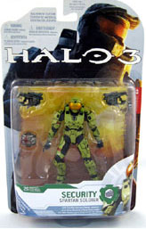 Halo 3 Series 4 - Spartan Soldier Security - Olive