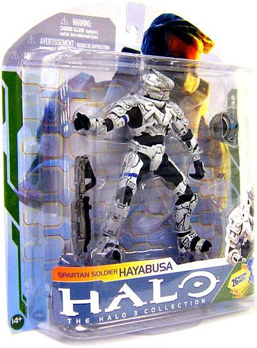 Halo 3 - Spartan Hayabusa WHITE
