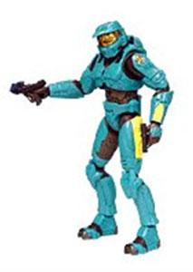 Halo 2 Series 7 - Cyan Spartan
