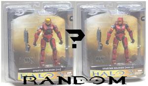 Mcfarlane Halo 3 - Spartan Soldier Red (Random Armor)