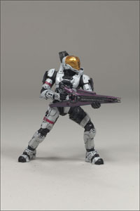 Halo 3 - Series 2 White SPARTAN  Soldier EVA