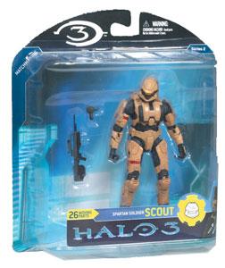 Mcfarlane Halo 3 Series 2 - Spartan Scout Tan