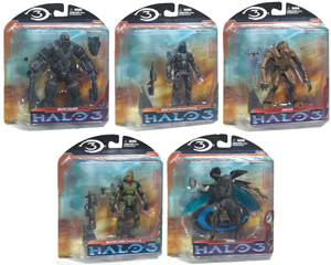 Halo 3 Series 2 CAMPAIGN SET of 5