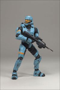 Halo 3 Series 2 - ODST Cyan Exclusive