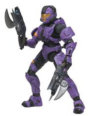 Halo 3 Series 3 - Spartan Soldier CQB Violet