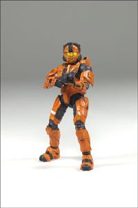 Halo 3 -  Spartan CQB Orange Exclusive