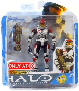 Halo 3 - Series 7 Exclusive White Spartan Soldier Mark V