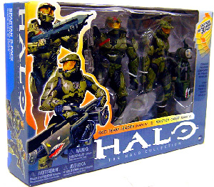 Master Chief and Red Team Leader 2-Pack