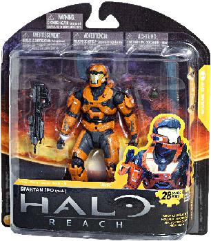 Halo Reach Series 3 - TRU Exclusive Spartan JFO Orange