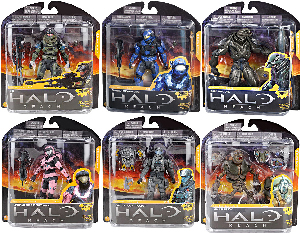 Halo Reach Series 3 - Set of 6