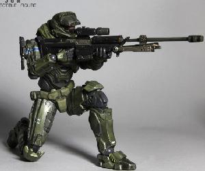 Halo Reach Play Arts Kai - Warrant Officer Jun