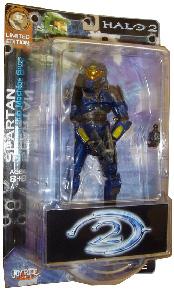 Limited Edition: Battle Damaged Blue Spartan