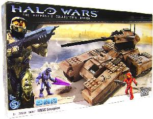 Mega Bloks Halo Wars - UNSC Scorpion Tank
