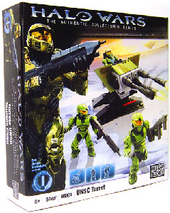 Mega Bloks Halo Wars - UNSC Turret [Battle Pack]