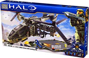 Mega Bloks Halo Wars - UNSC Falcon with Landing Pad - 96940
