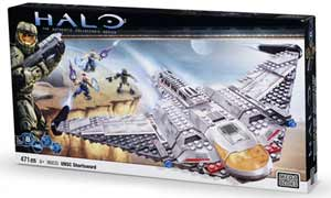 Mega Bloks Halo Wars - USNC Shortsword Bomber - 96835