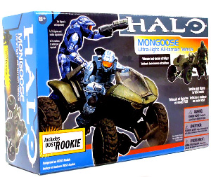MONGOOSE WITH ODST ROOKIE in VISR MODE
