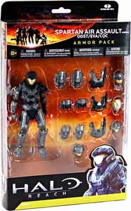Halo Reach - Steel Spartan Air Assault Custom Armor Pack - ODST, EVA, CQC