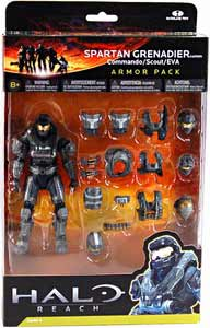 Halo Reach - Steel Grenadier Custom Armor Pack - Commando, Scout, EVA