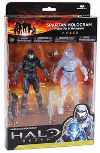 Halo Reach 2-Pack - Spartan Hologram - Noble Six and Hologram