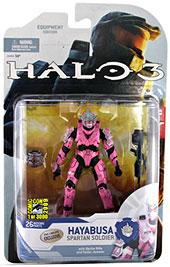 Halo 3 SDCC Pink Spartan Hayabusa