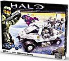 Mega Bloks Halo Wars - UNSC Rocket Warthog - Arctic White 96805