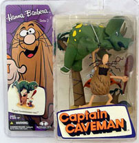 Captain Caveman with Dinosaur