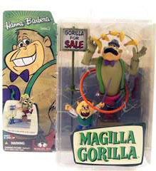 Magilla Gorilla with Mr Peebles