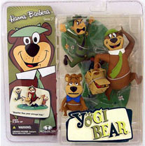 Yogi Bear with Boo Boo and Ranger Smith