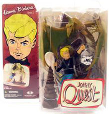 Johnny Quest with Bandit The Dog