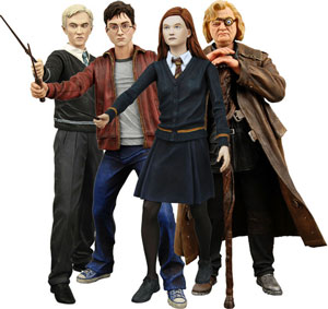 Harry Potter Half Blood Prince Series 1 Set of 4