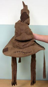 THE SORTING HAT PLUSH REPLICA